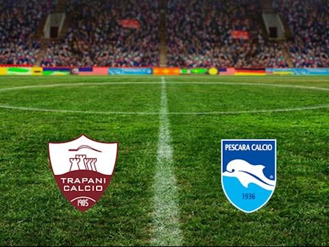 Trapani vs Pescara 2h00 ngày 257 Hạng 2 Italia hình ảnh