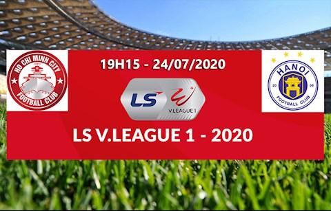 Link xem truc tiep bong da TP Ho Chi Minh vs Ha Noi vong 11 V-League 2020