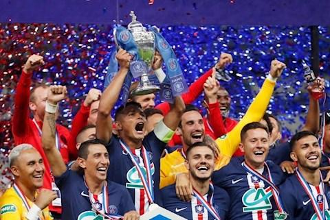 Kết quả tỷ số PSG vs StEtienne cúp quốc gia Pháp 201920 hình ảnh