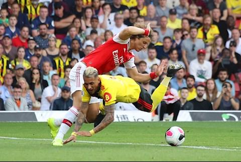 David Luiz Arsenal Watford
