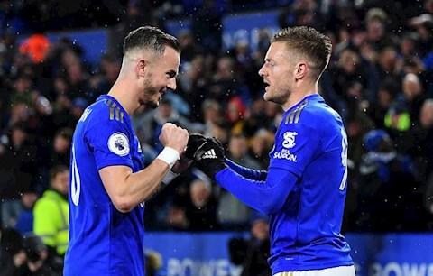 Leicester báo tin buồn cho MU vụ tiền vệ James Maddison hình ảnh