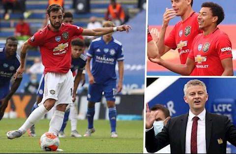 5 điểm nhấn trận Leicester vs MU Fernandes và Bầy quỷ ha hình ảnh