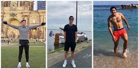 Đoàn Văn Hậu khoe thân hình 6 múi khi đi du lịch tại châu Âu hình ảnh