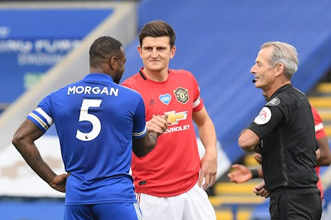 Harry Maguire vs Leicester