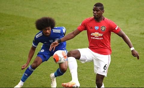 Leicester 0-2 MU Pogba