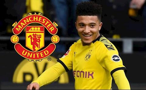 Dortmund chịu áp lực phải bán Jadon Sancho cho MU hình ảnh