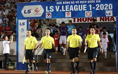 VFF tuýt còi ban trọng tài sau sự việc của Nam Định hình ảnh