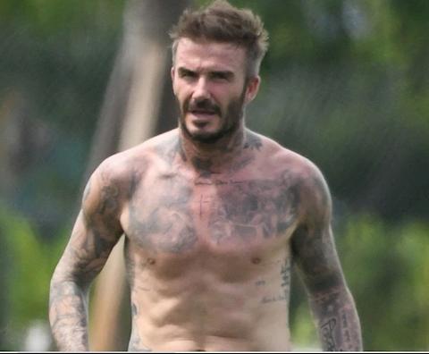 Beckham và những danh thủ giữ vóc dáng ấn tượng sau khi giải nghệ hình ảnh