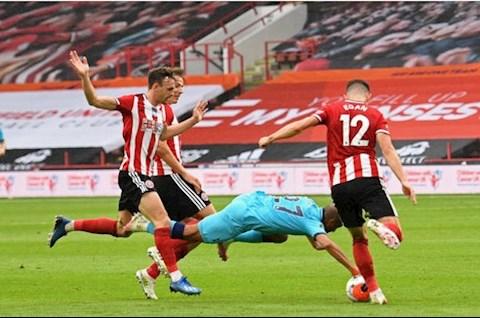 Cận cảnh tình huống VAR tranh cãi khiến Spurs thua thảm Sheffield hình ảnh 2