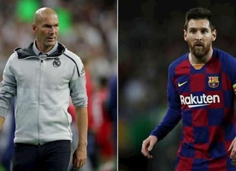 HLV Zidane lên tiếng về khả năng tiền đạo Lionel Messi rời Barca hình ảnh