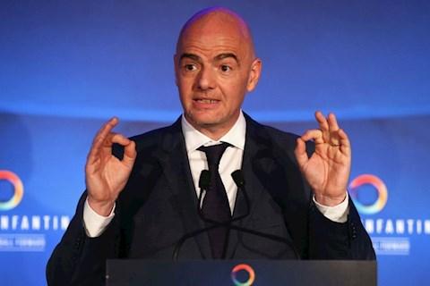 Chủ tịch FIFA Infantino bị cáo buộc tham nhũng hình ảnh