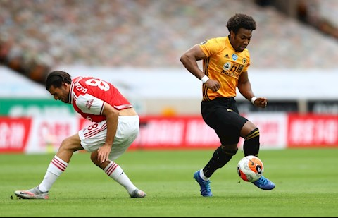 Wolves to ra hoan toan ngang ngua ong lon Arsenal