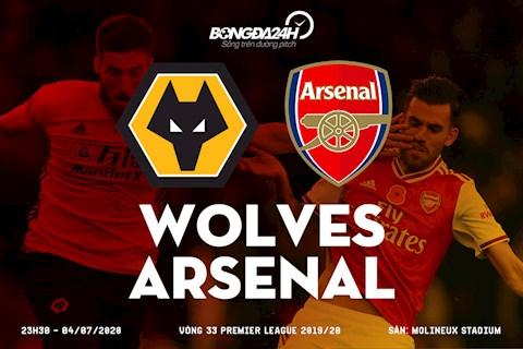Trực tiếp Wolves vs Arsenal hôm nay 47 Ngoại hạng Anh 2020 hình ảnh