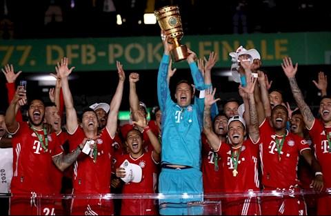 Bayern hoan tat cu dup quoc noi