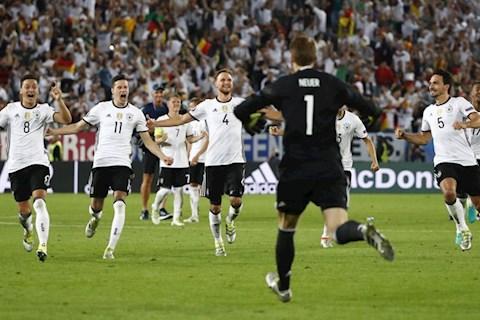 Đức 1-1 Italia Tứ kết Euro 2016: Màn trả thù ngọt ngào của người Đức trước Azzurri