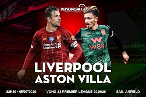 Trực tiếp Liverpool vs Aston Villa, Ngoại hạng Anh 572020 hình ảnh