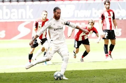 Real 1-0 Bilbao Ramos sut penalty
