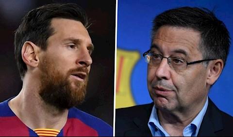 Messi va Bartomeu