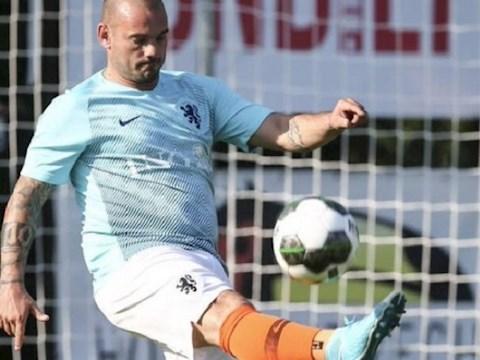 HLV ĐT Hà Lan phũ phàng với Wesley Sneijder hình ảnh 2