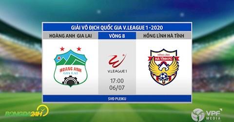 Link xem truc tiep bong da HAGL vs Hong Linh Ha Tinh vong 8 Vleague 2020