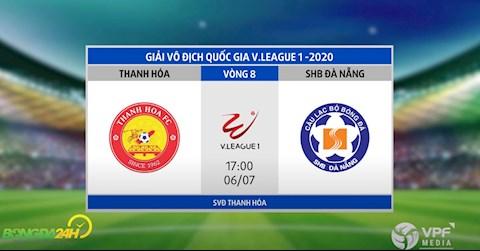 Link xem truc tiep bong da Thanh Hoa vs Da Nang vong 8 Vleague 2020