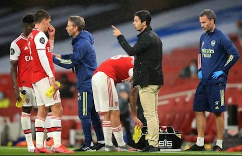HLV Arteta va Arsenal