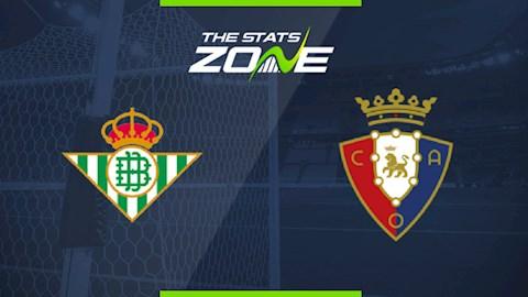 Betis vs Osasuna 0h30 ngày 97 La Liga 201920 hình ảnh