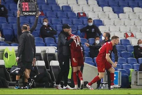 Milner thay Henderson