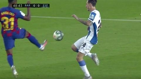 Sao trẻ Ansu Fati lập kỷ lục siêu tệ ở La Liga hình ảnh