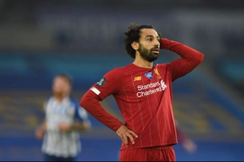 Tiền đạo Mohamed Salah bị chỉ trích sau trận đấu với Brighton hình ảnh 2