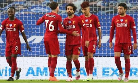 Liverpool thang Brighton