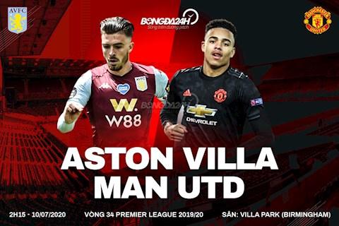 Trực tiếp Aston Villa vs MU 1072020, xem Ngoại hạng Anh hình ảnh