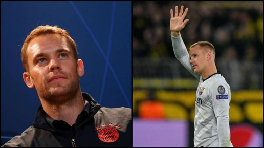 Barca vs Bayern Munich Neuer và đọ sức Ter Stegen hình ảnh