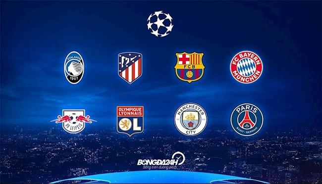 Lịch thi đấu Cúp C1 mới nhất vòng tứ kết Champions League 2020 hình ảnh