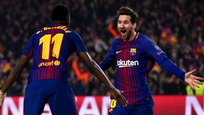 Barca vs Bayern Munich Messi và Dembele trở lại hình ảnh