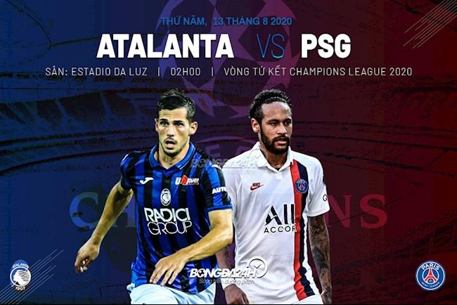 Trực tiếp Atalanta vs PSG hôm nay 138 Cúp C1 châu Âu 2020 hình ảnh