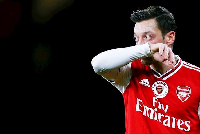 Tiền vệ Mesut Ozil chỉ trích truyền thông Anh hình ảnh