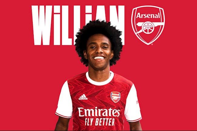 Willian gia nhap Arsenal