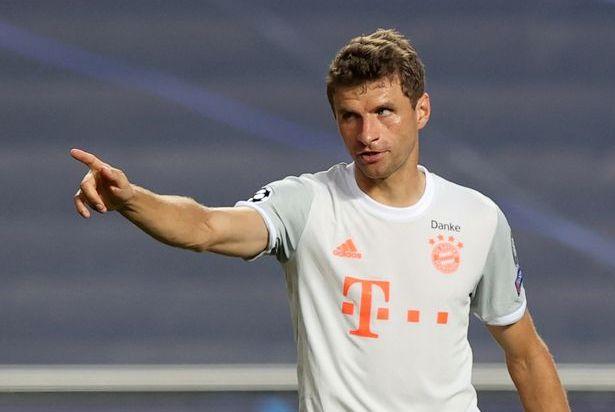Thomas Muller cua Bayern