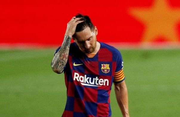 Messi bat luc
