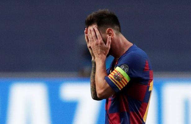 Messi mang tội gì khiến Barca thua thảm Bayern hình ảnh