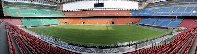 Sân vận động San Siro -Sân nhà của 2 CLB AC Milan và Inter Milan hình ảnh