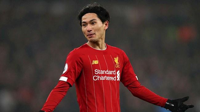 Tiểu sử cầu thủ Minamino Takumi của câu lạc bộ Liverpool hình ảnh