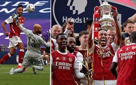 5 điểm nhấn ngày Arsenal vs Chelsea 2-1 Nụ cười Auba hình ảnh
