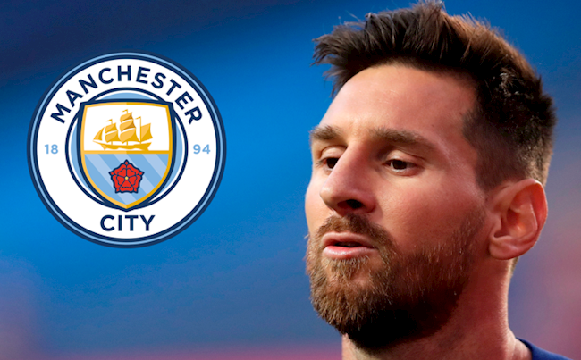 Man City mua Messi