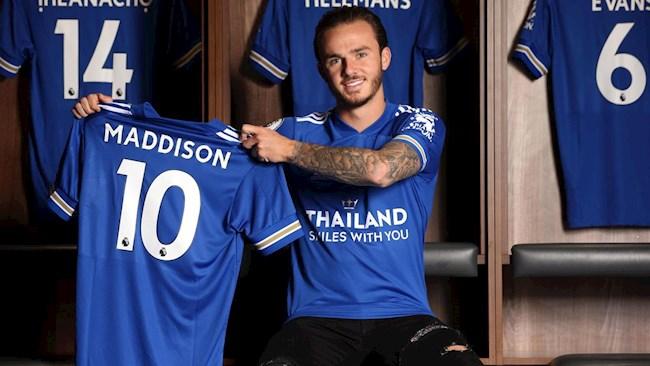 Tiền vệ James Maddison chính thức chốt tương lai hình ảnh