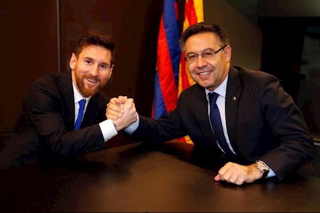 Messi Bartomeu