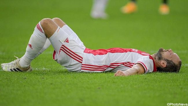 Sốc Daley Blind ngã quỵ trên sân vì bệnh tim hình ảnh