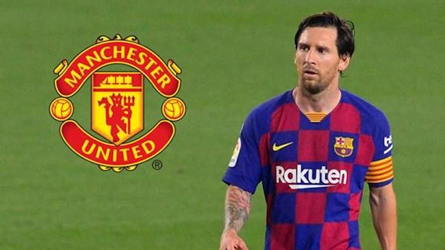 Doi hinh trong mo cua MU khi co Lionel Messi