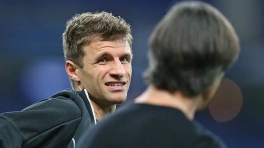 HLV ĐT Đức phũ phàng với tiền vệ Thomas Muller hình ảnh